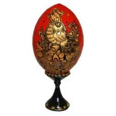 41501201 яйцо хохлома Птичка