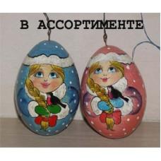 41600601 Елочная игрушка Снегурочка 6 см